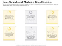 Some Omnichannel Marketing Global Statistics Ppt Introduction
