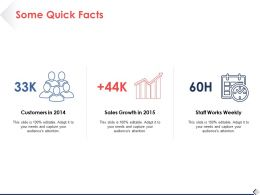 Some Quick Facts Ppt Pictures Background Designs