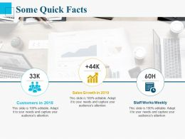 Some Quick Facts Ppt Powerpoint Presentation Slides Download