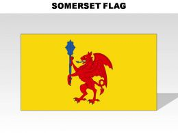 Somerset Country Powerpoint Flags
