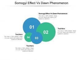 Somogyi Effect Vs Dawn Phenomenon Ppt Powerpoint Presentation Icon Elements Cpb