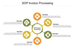 SOP Invoice Processing Ppt Powerpoint Presentation Outline Format Ideas Cpb