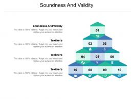 Soundness And Validity Ppt Powerpoint Presentation Slides Slideshow Cpb