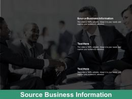 Source Business Information Ppt Powerpoint Presentation Slides Picture Cpb