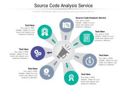 Source Code Analysis Service Ppt Powerpoint Presentation Gallery Layouts Cpb