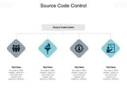 Source Code Control Ppt Powerpoint Presentation Infographics Infographics Cpb