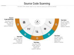 Source Code Scanning Ppt Powerpoint Presentation Inspiration Slideshow Cpb