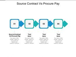 Source Contract Vs Procure Pay Ppt Powerpoint Presentation Layouts Topics Cpb