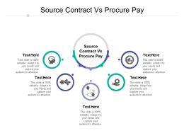 Source Contract Vs Procure Pay Ppt Powerpoint Presentation Portfolio Portrait Cpb