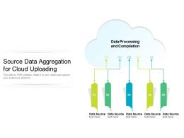 Source Data Aggregation For Cloud Uploading