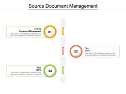 Source Document Management Ppt Powerpoint Presentation Infographics Show Cpb