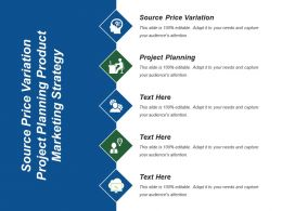 Source Price Variation Project Planning Product Marketing Strategy