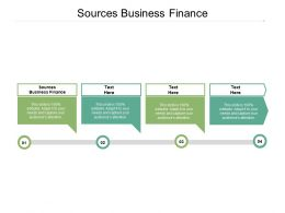 Sources Business Finance Ppt Powerpoint Presentation Example File Cpb