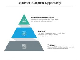 Sources Business Opportunity Ppt Powerpoint Presentation Model Aids Cpb