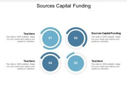 Sources Capital Funding Ppt Powerpoint Presentation Pictures Outfit Cpb