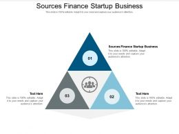 Sources Finance Startup Business Ppt Powerpoint Presentation Professional Styles Cpb