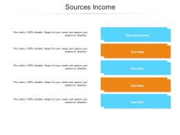Sources Income Ppt Powerpoint Presentation Styles Format Ideas Cpb