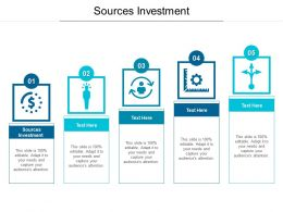 Sources Investment Ppt Powerpoint Presentation Slides Design Templates Cpb