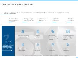 Sources Of Variation Machine Ppt Powerpoint Presentation Pictures Background