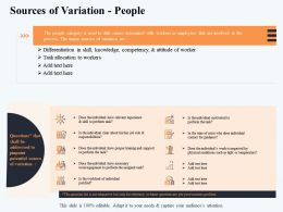 Sources Of Variation People About M2911 Ppt Powerpoint Presentation Slides Icon