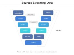 Sources Streaming Data Ppt Powerpoint Presentation Slides Samples Cpb