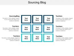Sourcing Blog Ppt Powerpoint Presentation Styles Background Designs Cpb