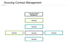 Sourcing Contract Management Ppt Powerpoint Presentation Portfolio Example File Cpb
