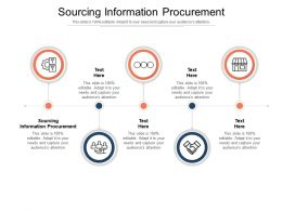 Sourcing Information Procurement Ppt Powerpoint Presentation Pictures Slides Cpb