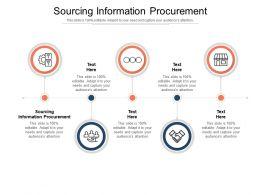 Sourcing Information Procurement Ppt Powerpoint Presentation Pictures Slides Cpb