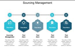 Sourcing Management Ppt Powerpoint Presentation Icon Deck Cpb