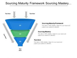 Sourcing Maturity Framework Sourcing Mastery Vendor Management Fundamentals