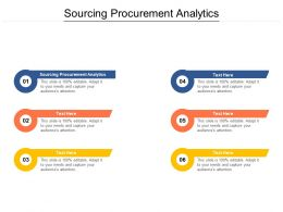 Sourcing Procurement Analytics Ppt Powerpoint Presentation Model Sample Cpb