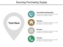 Sourcing Purchasing Supply Ppt Powerpoint Presentation Pictures Designs Cpb