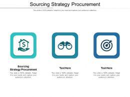 Sourcing Strategy Procurement Ppt Powerpoint Presentation Portfolio Design Inspiration Cpb