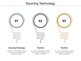 Sourcing Technology Ppt Powerpoint Presentation Ideas Aids Cpb