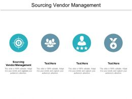 Sourcing Vendor Management Ppt Powerpoint Presentation Layouts Background Cpb
