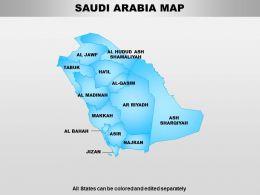 South Arabia Powerpoint Maps