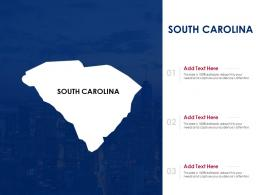 South Carolina Powerpoint Presentation PPT Template