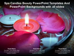 Spa Candles Beauty Templates And Powerpoint With All Slides Powerpoint Ppt
