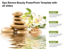 Spa Stones Beauty Powerpoint Template With All Slides