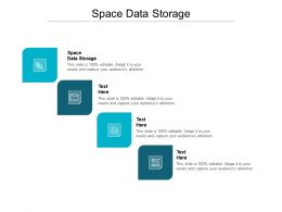 Space Data Storage Ppt Powerpoint Presentation Professional Visuals Cpb