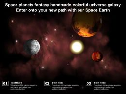 Space Planets Fantasy Handmade Colorful Universe Galaxy Enter Onto Your New Path With Our Space Earth