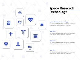 Space Research Technology Ppt Powerpoint Presentation Outline Design Inspiration