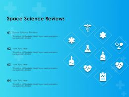 Space Science Reviews Ppt Powerpoint Presentation Show Sample