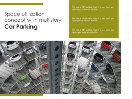 Space Utilization Concept With Multistory Car Parking