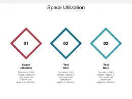 Space Utilization Ppt Powerpoint Presentation Model Example Introduction Cpb