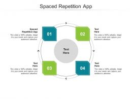 Spaced Repetition App Ppt Powerpoint Presentation Infographics Files Cpb