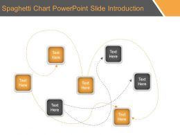 Spaghetti Chart Powerpoint Slide Introduction