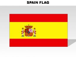 Spain Country Powerpoint Flags