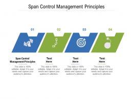 Span Control Management Principles Ppt Powerpoint Presentation Portfolio Background Designs Cpb